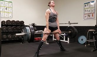 Beth Stelzer powerlifter mother and founder of save women's sports