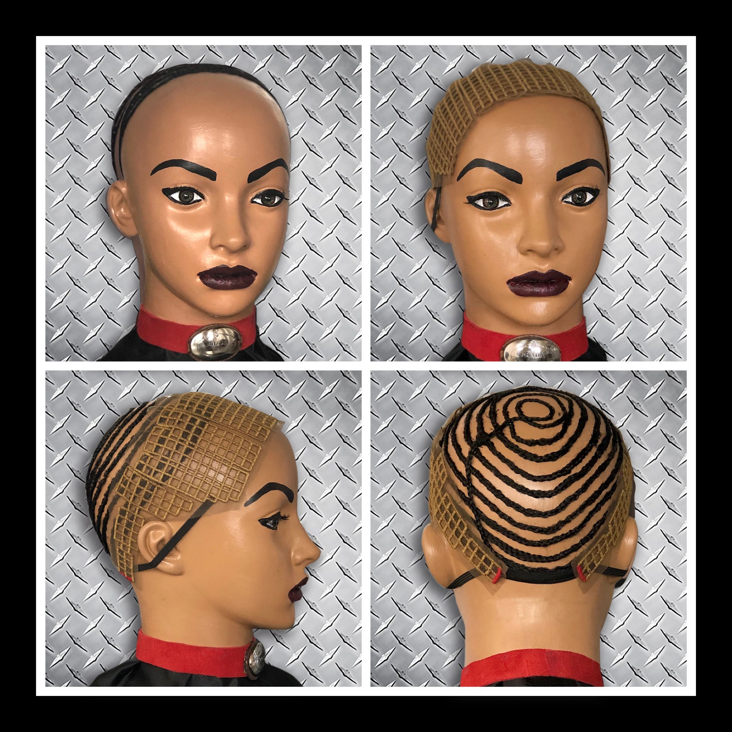 Protection For Crochet Braids and latch feed in extensions.