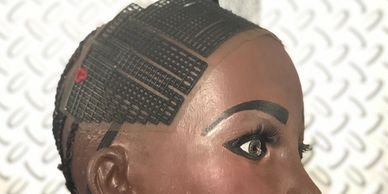 The Weave buddy Hairline Protective Bands. Ensuring a safe application on full hair installations.