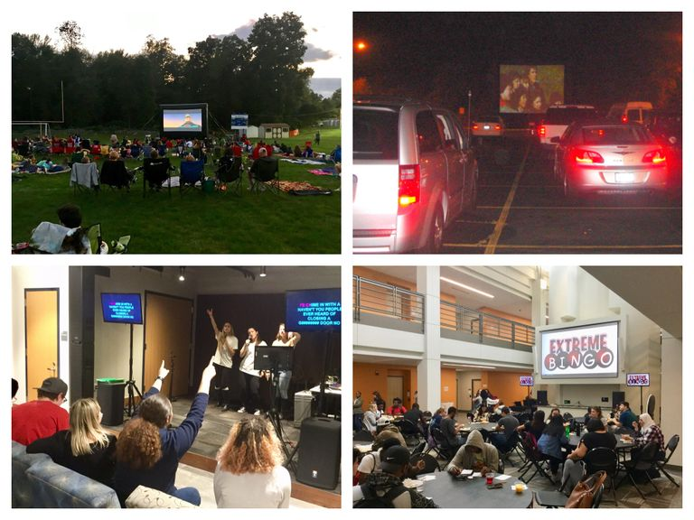 Drive-In Movie, Outdoor Movie, Karaoke, Extreme Music Bingo, Headphone Outdoor Movie, Photo Booth