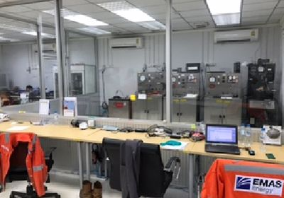 EMAS Energy Cement Testing Laboratory