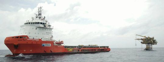 Pumping Vessel - EMAS Energy + EMAS Offshore | Together We Deliver