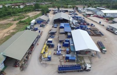 EMAS Energy Maintenance and Fabrication Workshop Sattahip Chonburi Thailand