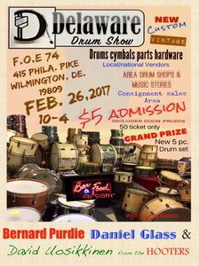 Delaware Drum Show Poster 2017