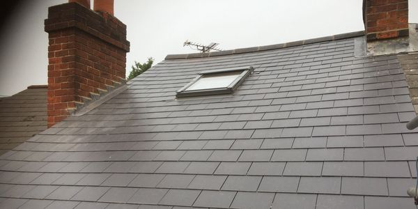 New roof, roofing, roofers, Reading, Berkshire, slate, tiled, flat, storm damage