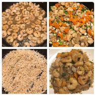 Shrimp Stir fry, cauliflower rice, low carb, keto, lose fat, lose weight, diet