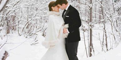 winter lakeside weddings ontario Winter weddings kawartha winter weddings Stoney Lake Weddings LGBTQ