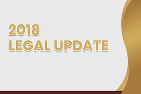 2018 - 2019 3 Hour Community Association Manager HOA and Condo Legal Update