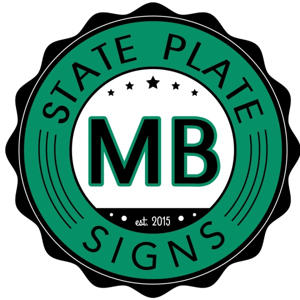 State Plate Signs