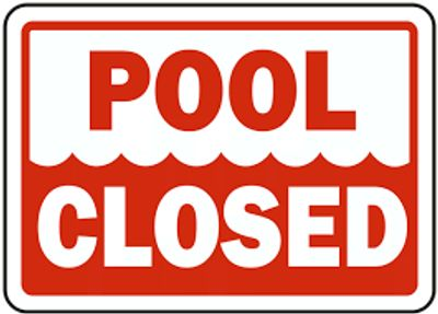 Pool is closed for the season
