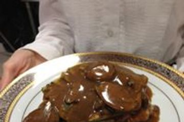 Chicken Marsala- a Naples Catering Exclusive Caterer