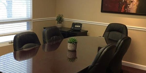 Conference room real estate closings