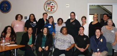 KIM TURNER, LLC LEADERSHIP WORKSHOP AT LAPD