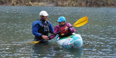 American Canoe Association (ACA) instructor certification courses for swiftwater rescue and kayaking