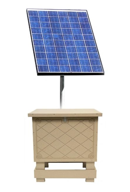 Overton Fisheries offers Keeton SB1 & SB2 Series Solar Powered Aeration Systems