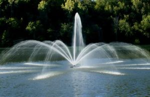 Overton Fisheries Provides Kasco J-Series Fountains for Texas Lakes & Ponds