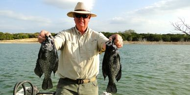 Overton Fisheries Fish Farm & Hatchery Stocks Black Crappie in Texas Lakes & Ponds