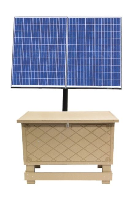 Overton Fisheries offers Keeton SB3 & SB4 Series Solar Powered Aeration Systems