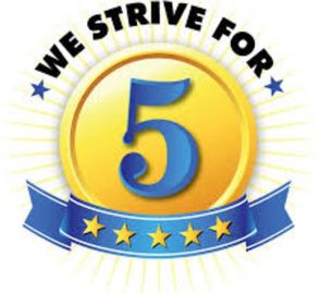 we are excited to announce that we rate 4.9 - 5 star on Google,Yelp,Facebook,Better Business Bureau