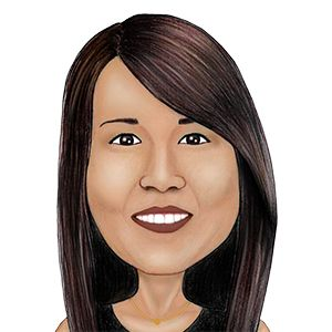 caricature of Customer Service Representative Lori Lee
