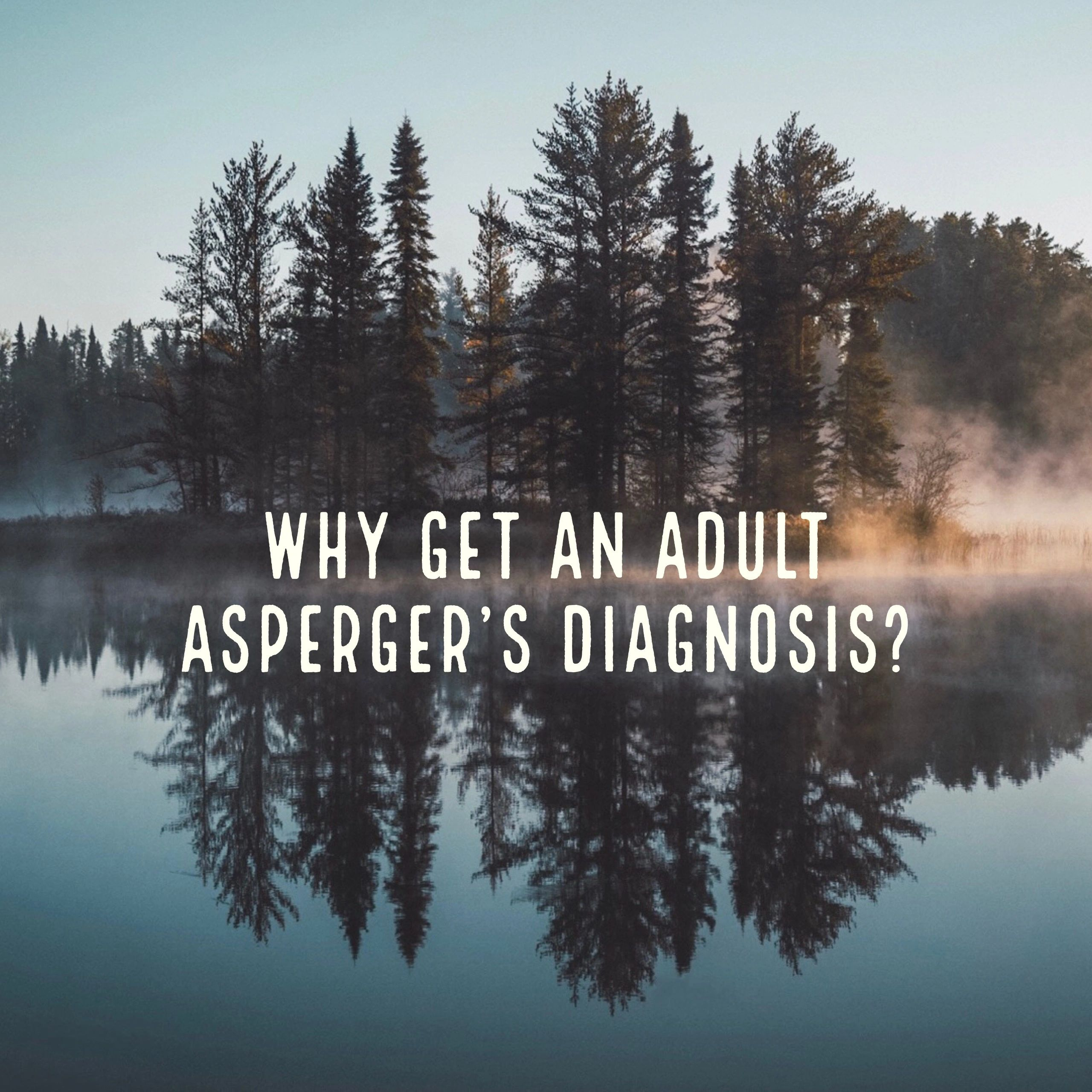 Adult diagnosis aspergers you were