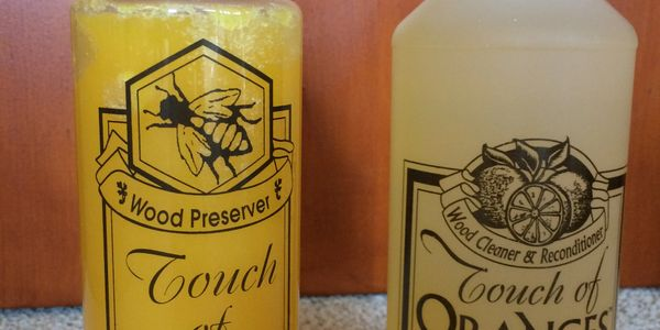 Touch of Oranges Wood Cleaner & Reconditioner is curently sold out. Phone now to order Touch of Bees