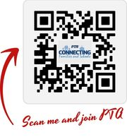 Scan the QR code and join PTA!