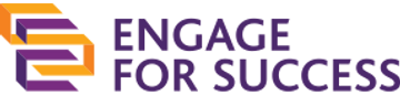 logo for Engage for Success radio show