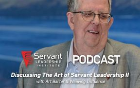Art Barter, CEO of the Servant Leadership Institute and Datron World Communications.