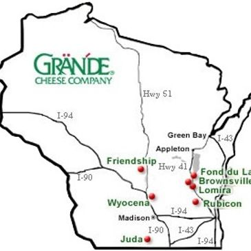Thee Upper Crust is proud to use 100% Grande cheeses!