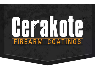 Cerakote Logo. Cerakote is the leading thin film firearms coating. Finish strong!