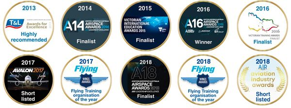 Moorabbin Flying Services Awards