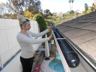 DIY Gutter Guards - Gutter Cups