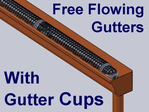 Gutter Cups Gutter Screens Gutter Guard Diy Gutter Guards