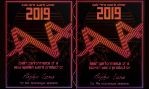 Two Audio Verse Awards awarded to Angelique fin 2019.