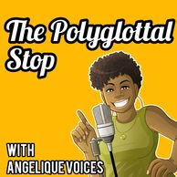 Cover Art for The Polyglottal Stop podcast.