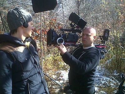 OnSet filming the feature film CATSKILL PARK  for Entertainment Studios Motion Pictures