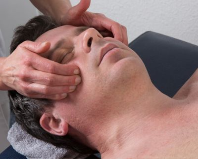 Biodynamic face massage anxiety stress tension depression sensitivity pain energy healing