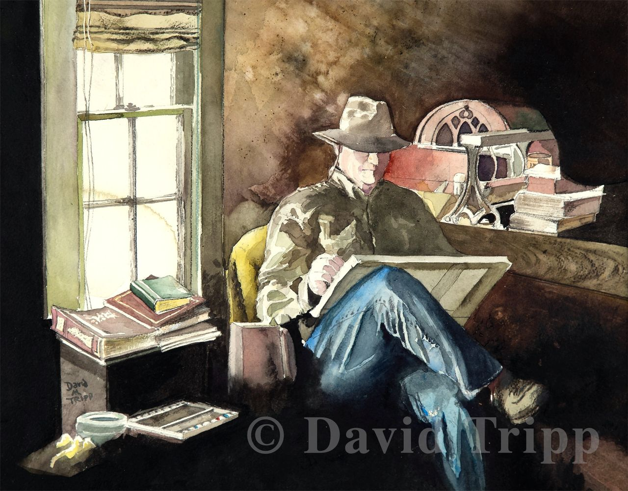 Self Portrait by David Tripp
