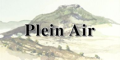 Plein Air Watercolor Images