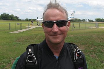 Skydive instructor Ron can teach you to jump from a perfectly good airplane!