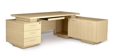 Office furniture manufacturer-office table design maple color