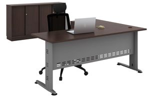 Office furniture manufacturer-office table design with metal legs metal modesty
