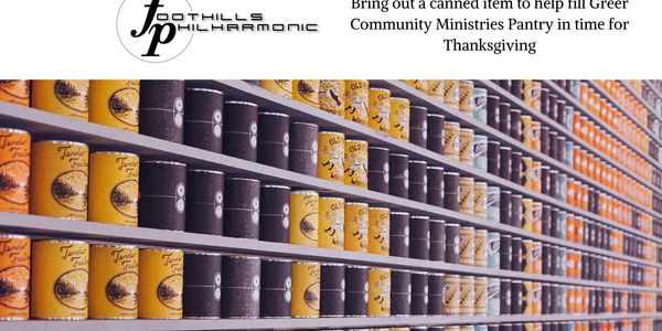 Greer Community Ministries Food Drive