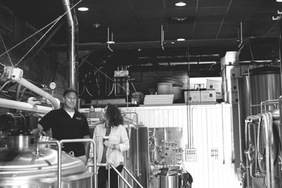 brewery founders on the brewhouse