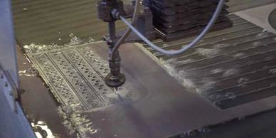 San Diego waterjet cutting with precision