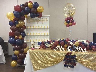 Balloon Decor Bridal Show