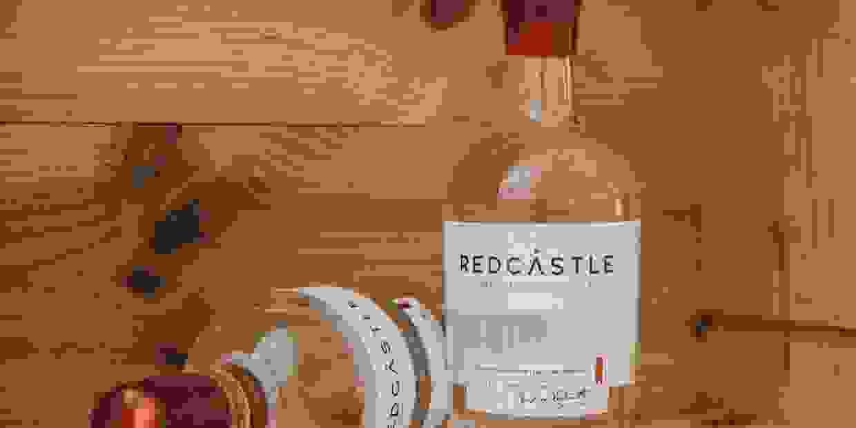 Redcastle Premium Scottish Gin Distilled in Arbroath