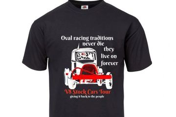 Oval racing traditions TEE