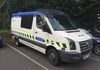 Still in service this GMP VW Crafter was parked up at the Training School at Sedgeley Park.